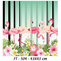 KT-504 43x43 Fabric  Transfer