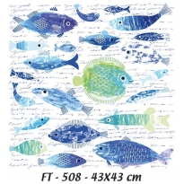KT-508 43x43 Fabric  Transfer