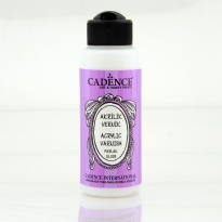 120ML Water Based Acrylic Varnish (Gloss)