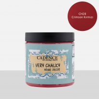 CH28 Crimson Red - 500ML Very Chalky Home Decor