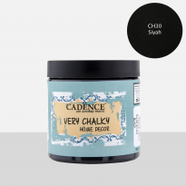 CH30 Black - 500ML Very Chalky Home Decor