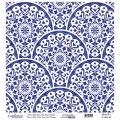 K029 World's Blue Shades Rice Paper Decoupage