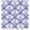 K030 World's Blue Shades Rice Paper Decoupage
