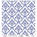 K031 World's Blue Shades Rice Paper Decoupage
