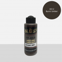 4012 Burnt Umber - Premium Akrilik 250ml