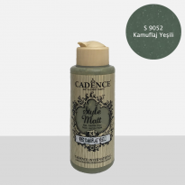 S9052 Camuflage Green Mat Acrylic Paint