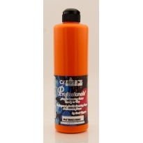 PP04 Orange - Professionals Ready to Use Acrylic Pouring Paint 500ml